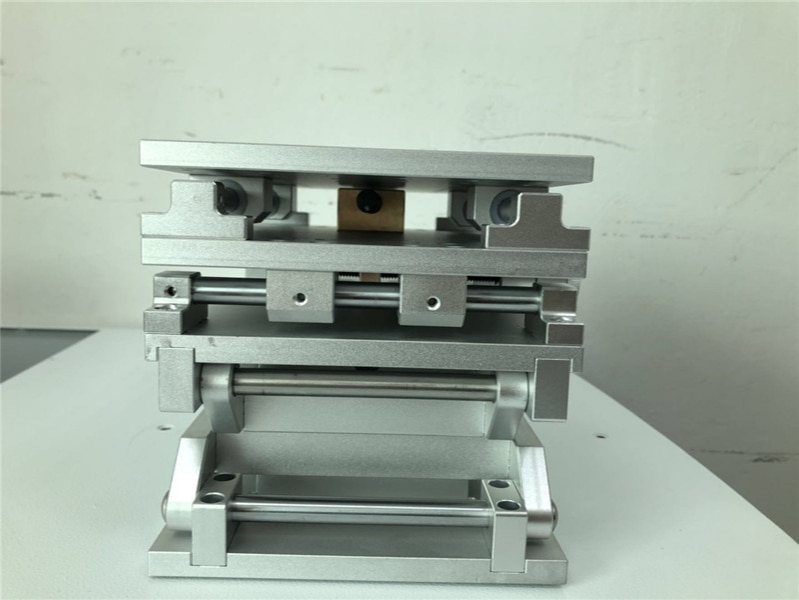 Portable 3D Workbench Laser Marking Engraving Machine 3 Axis Moving Table 210x150x150mm Optical Experiment XYZ AXIS Table enlarge