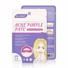 24pcs Treatment Acne Stickers Patch Pimple Remover Patch Skin Acne Concealer Face Makeup Tools