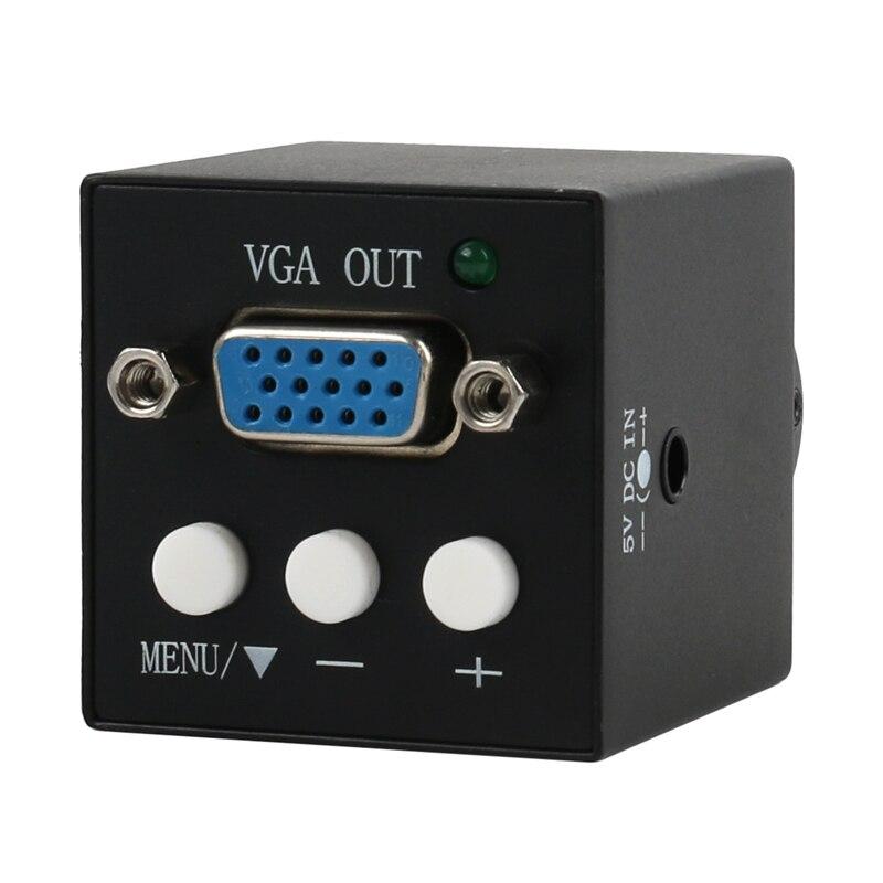 1080P مصغر الصناعية VGA الرقمية الالكترونية C-جبل كاميرا فيديو مجهر للهاتف مختبر PCB بغا صيانة لحام
