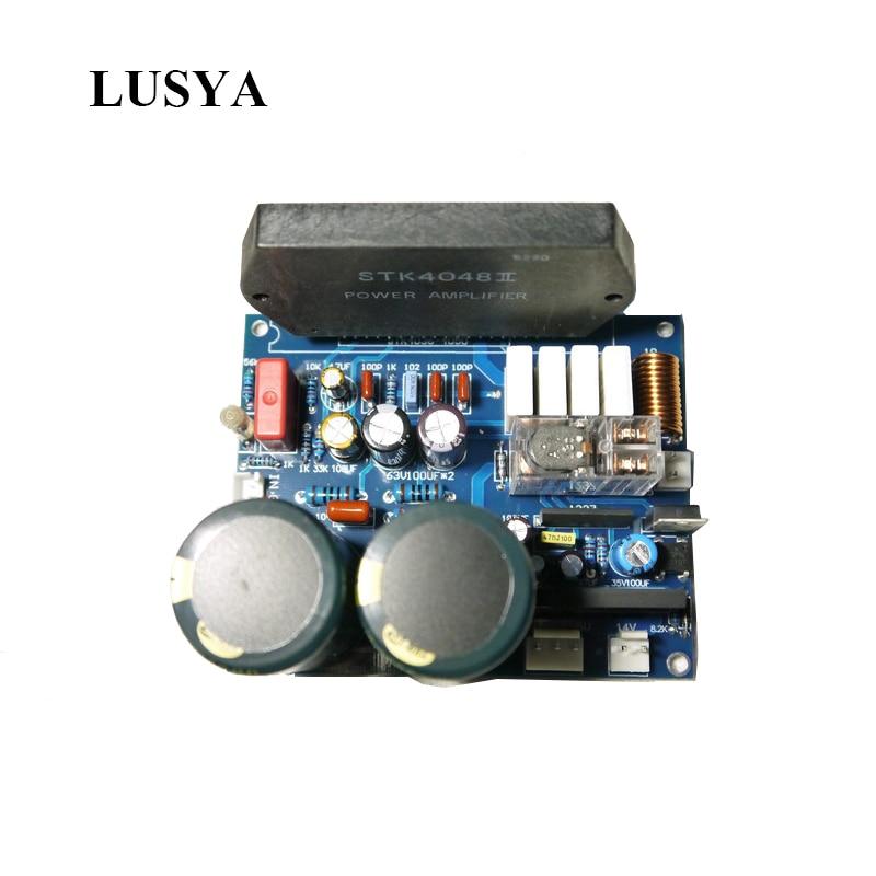 AMPLIFICADOR DE película gruesa STK4040/4046/4048 tarjeta de Audio 150W * 2 amplificadores de Audio de alta potencia 2,0 altavoz PC1237 de Sanyo T0504