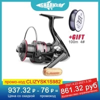 500 7000 metal spool spinning fishing reel left right hand 4 7%ef%bc%9a1 5 2%ef%bc%9a1 saltwater fishing reels spinning accessories 8kg max drag