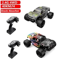 40kmh high speed remote control rc racing car buggy off colorful headlight shock absorber suspension long time driving vehical