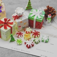 diy exquisite gift box crystal epoxy mold size gift box christmas table accessories epoxy clay candle plaster soap making mold