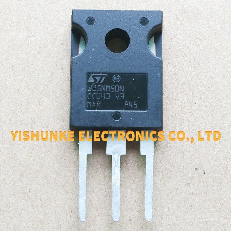 10PCS W25NM50N STW25NM50N ZU-247 MOSFET TRANSISTOR 25A 500V