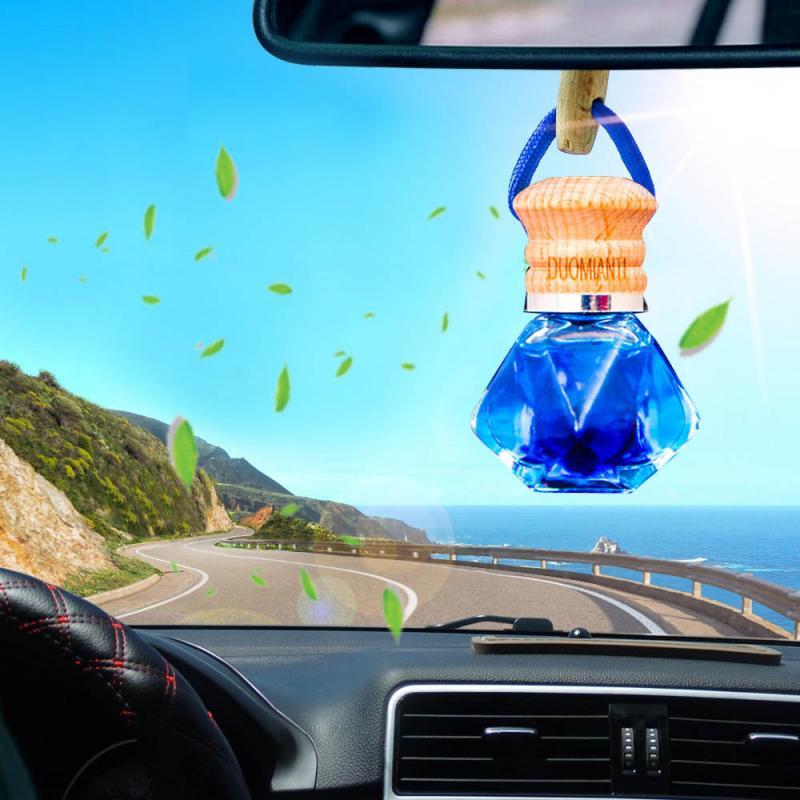5 tipos de ambientador de coches Perfume olor frasco de Perfume colgante difusor de aire ambientador en accesorios para automóvil de regalo