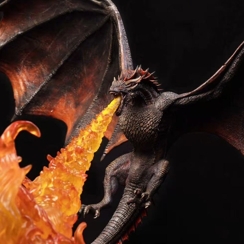HY 2020 Newest Rechargeable 3D Print DIY Ice And Fire Dragon Action Figure Night Light LED Lamps For Best Gifts Kids Dropship enlarge
