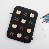 girls tablet case cute cartoon cute air34 ipad 9 7 10 2 10 5 10 8 10 9 pro 11 pouch 12131415 inch bag laptop sleeve bag