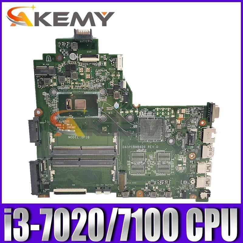 14-BS اللوحة الرئيسية DA0P1BMB6D0 ل HP 240 G6 14-BS سلسلة اللوحة الأم مع i3-7020/7100 وحدة المعالجة المركزية اختبارها بالكامل