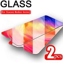 1/2 sztuk ochraniacz ekranu dla Redmi 8A Pro 8 7A 7 6A HD twarde przezroczyste szkło ochronne dla Redmi 10X Pro 5G 9C 9A 9 szkło hartowane
