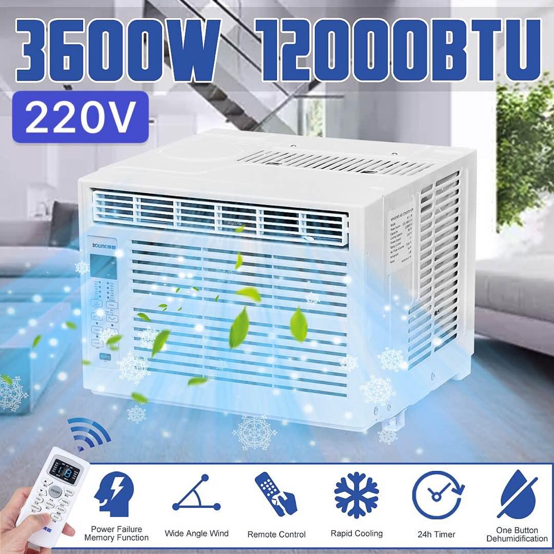 جهاز تكييف هواء 3600 واط 12000BTU 220 فولت LED سطح المكتب تكييف الهواء مبرد الهواء المنزلي الصغير الاستخدام المزدوج 24 ساعة الموقت مكتب التبريد