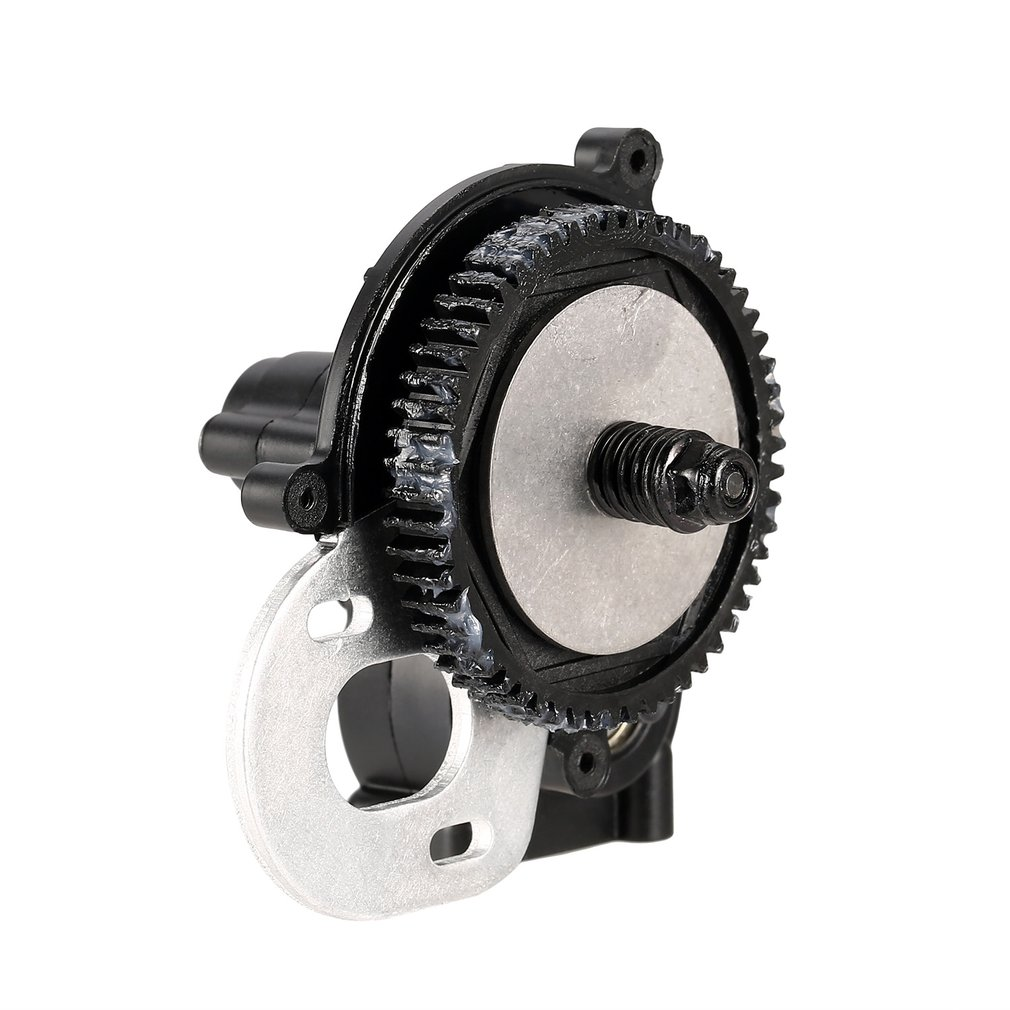 AUSTARHOBBY AX50003 Plastic Complete Center Gearbox Transmission Box with Gear for Axial SCX10 D90 1/10 RC Crawler Car enlarge