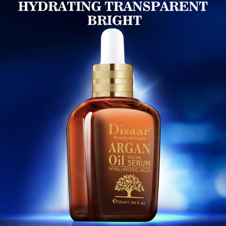 Argan Face Oil Serum Aceite Facial Collagene Crema Hidratante Anti Wrinkle Acné Cerrar Poros Clareador De Pele Olejek Do Twarzy
