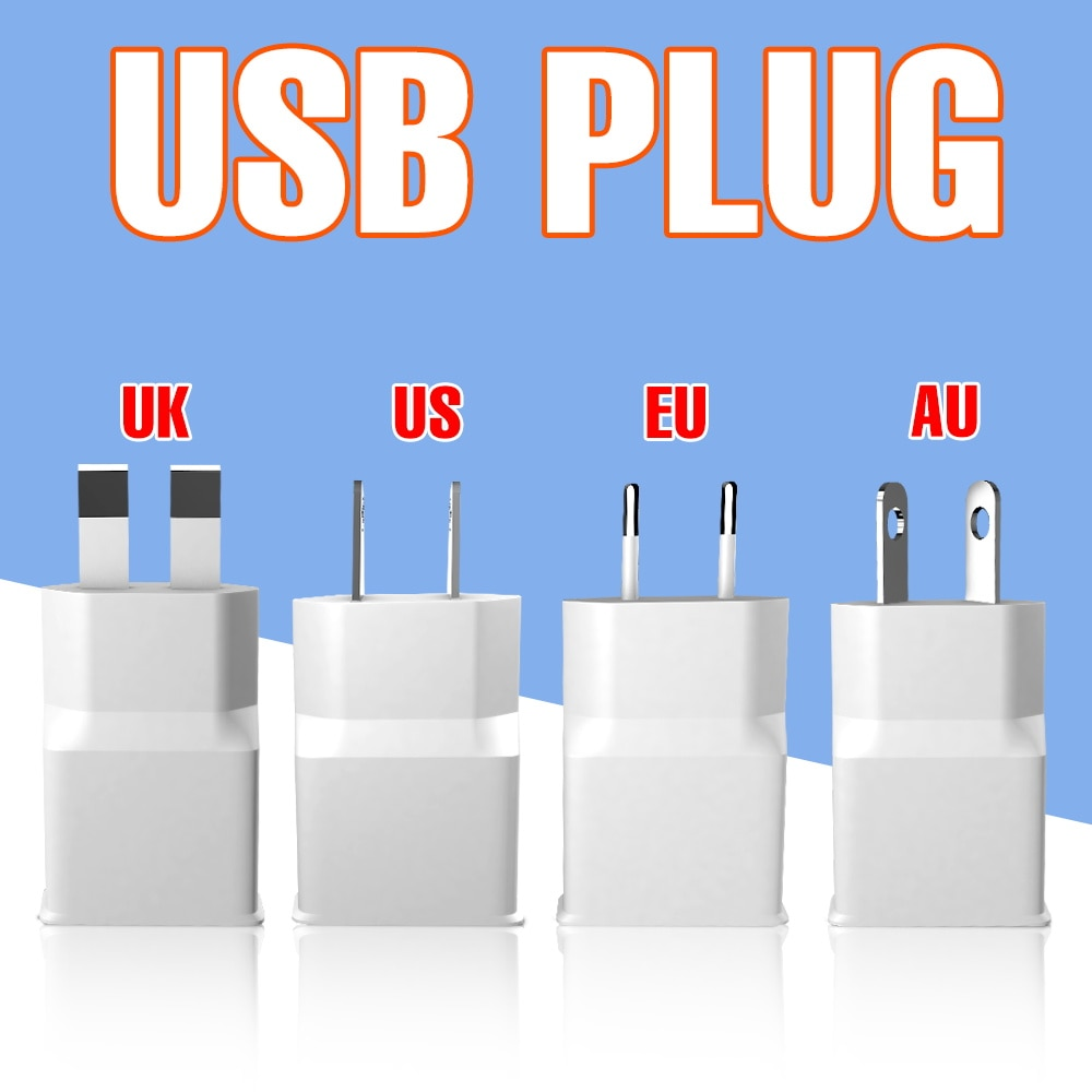 EU UK US AU Plug LED 5V Mirror Light LED Makeup Lamp USB Vanity Light Tape Ribbon 0.5M 1M 2M TV BackLight Bathroom Lighting 2835