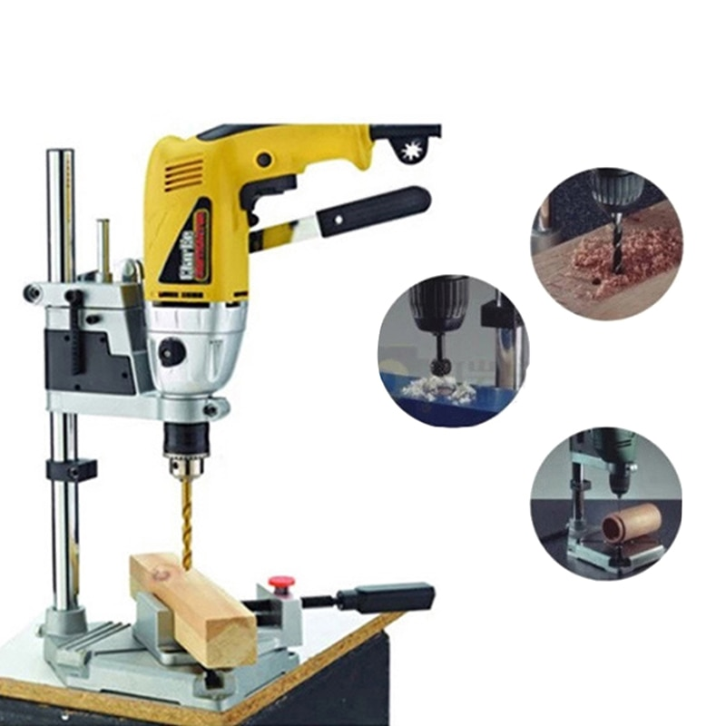 TTONG 400mm Electric Drill Stand Power Tools Accessories Bench Drill Press Stand DIY Tool Base Frame Drill Holder Drill Chuck enlarge