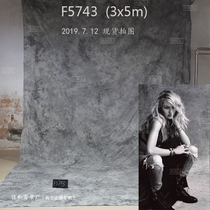 Toiles de fond de mariage en mousseline tye-die photographie, 100% fonds photographiques faits à la main en tissu de coton pour studio photo famille F5743