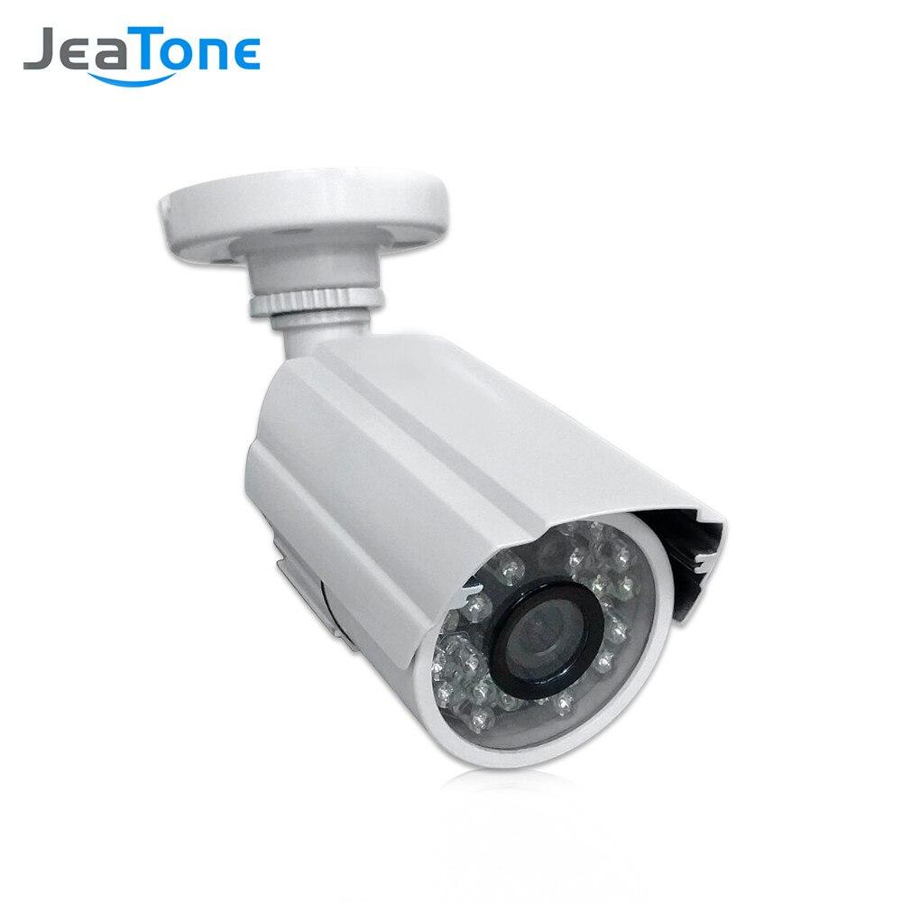 JeaTone 1/3 cmos 1200TVL cctv كاميرا مراقبة تناظرية مع عدسة 3.6 مللي متر كاميرا مقاومة للماء كاميرا الأمن