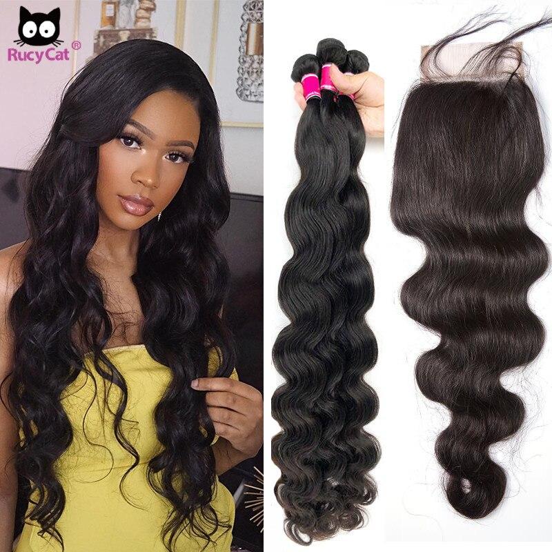 روكيت-وصلات شعر برازيلية مموجة ، شعر بشري 100% ، 5 × 5 ، 30 بوصة