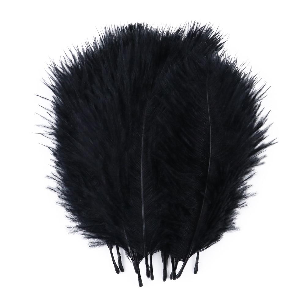 Gros haute qualité autruche plume blanc 5-10cm autruche plumas approprié pour mariage maison bricolage vêtements plumes décoratives