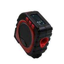 3-en-1 numérique multi-fonction ruban à mesurer infrarouge Laser Distance mètre outil de mesure télémètre rouleau cordon Mode jauge outil