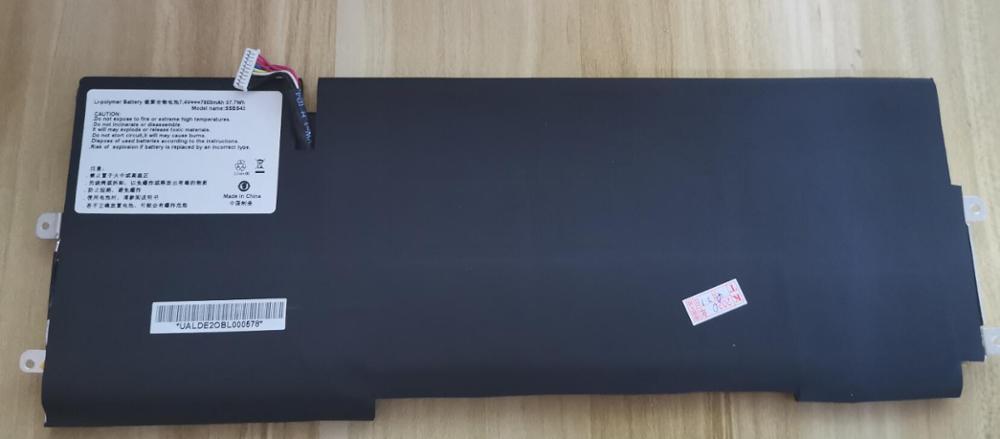 Nueva batería genuina para Hasee SSBS45 X1 X1T 7,4 V 7800mah