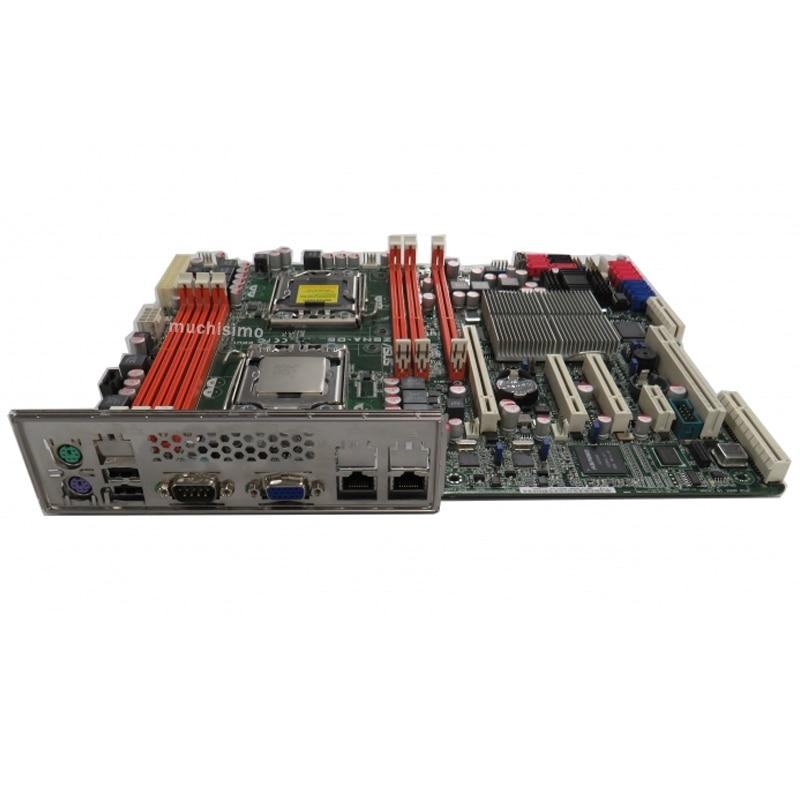 Socket 1366 Asus Z8NA-D6 Motherboard Xeon 5500 Intel 5500 DDR3 VGA ATX Core i7/Xeon 5500 Desktop Intel 5500 Placa-mãe 1366 Used