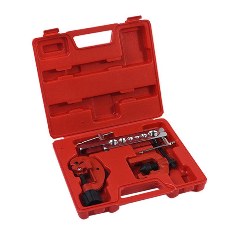 CT-8020 cobre Manual tubo expansión escariador de Gas de agua de línea de freno aplicación tubo excéntrico tipo cono quema de la herramienta