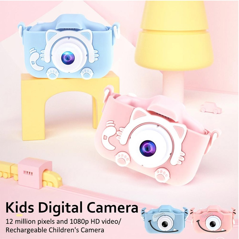x8 2.0 inch Screen Kids Camera Mini Digital 12MP Photo Children Camera with 600 mAh Polymer Lithium Battery Toys Gift