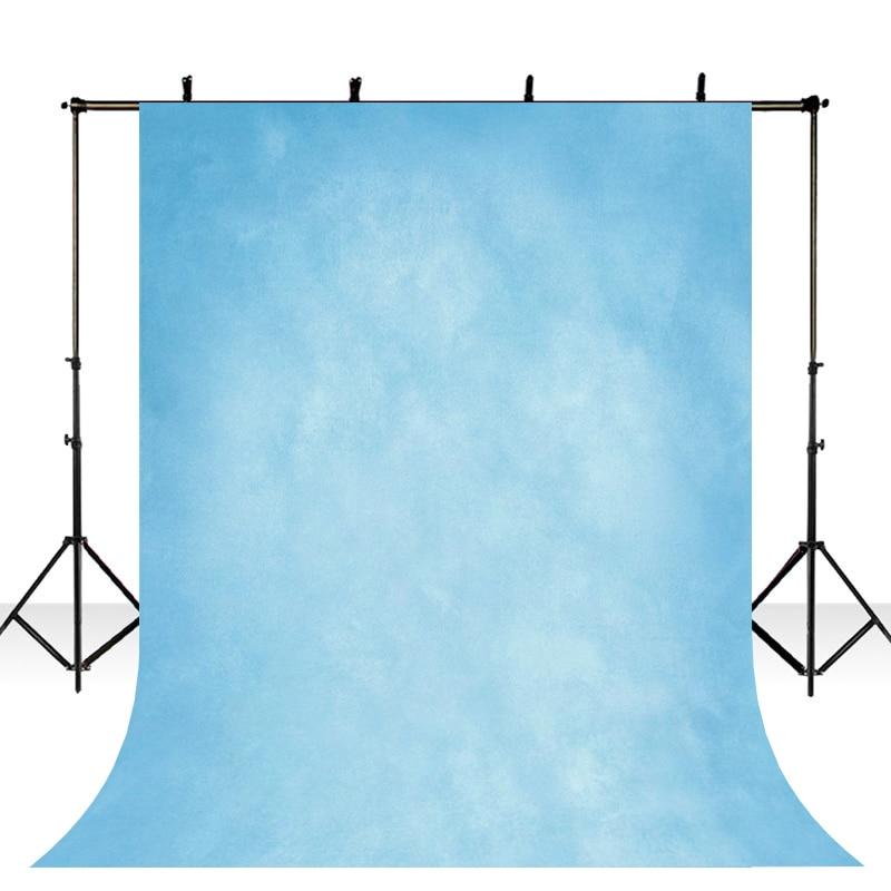 Тонкий Виниловый фон для фотосъемки с компьютерной печатью синий чистый цвет текстура стены фоны для фотостудии