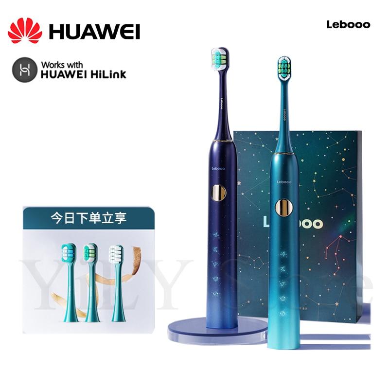 Newest Huawei Lebooo Smart Sonic Toothbrush Ultrasonic Brush IPX7 Waterproof USB Charger 4 Modes Recharge Sterilization Sonic To