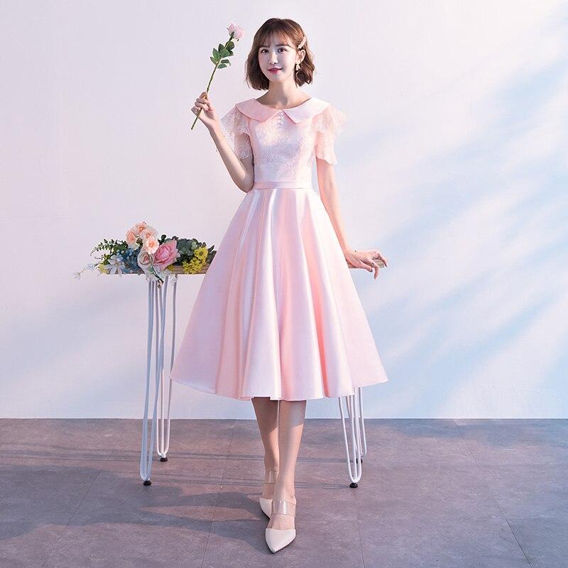 J050 vestidos de dama de honor, vestido de fiesta de vestido de boda vestido de mujer las mujeres gelinlik modelleri femme sukienki corto,
