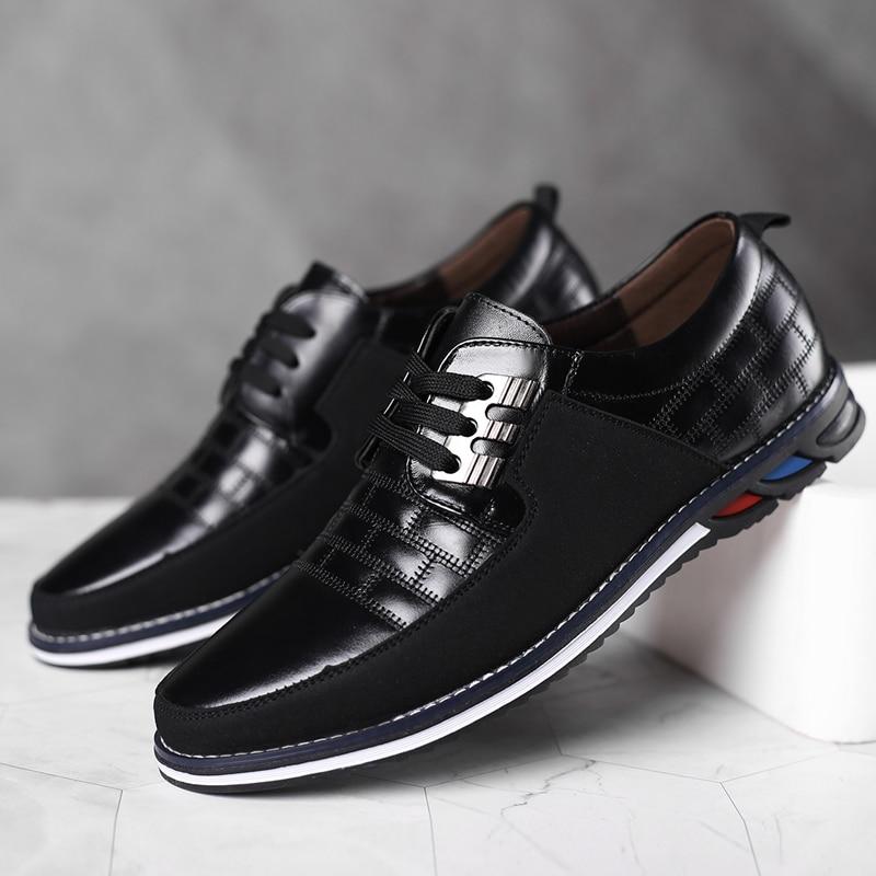 Zapatos informales transpirables para hombre y calzado de negocios de primavera color...