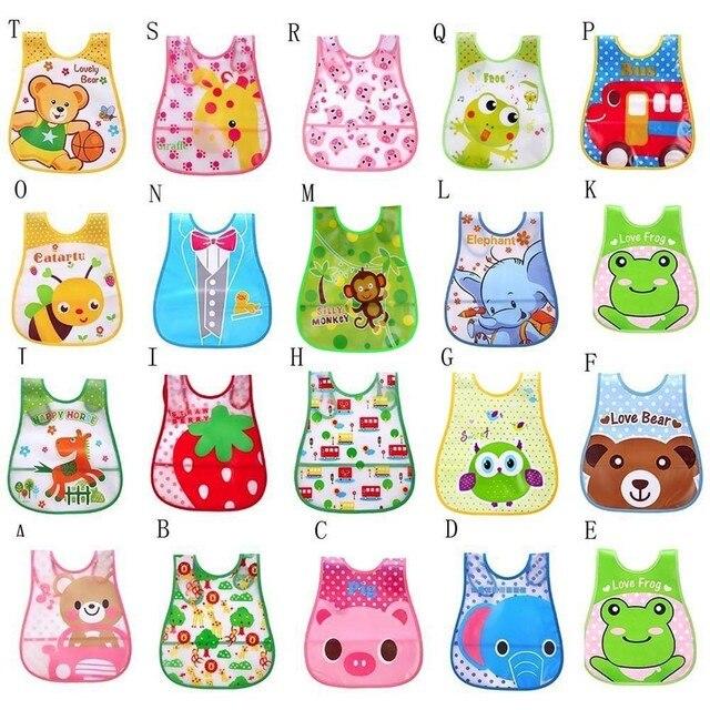 #30 Infant Baby Bibs Waterproof High Quality Mouth To Baby Cloth Cute Kid Baby Soft Cartoon Bib Waterproof Saliva Slabbetjes 2