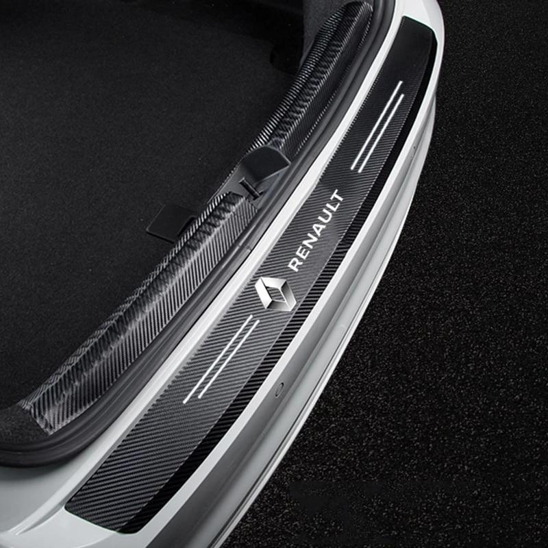 AliExpress - 4pcs Auto Accessories Car Door Trim Sticker for For Renault Kangoo Kadjar Trafic Twingo Scenic Clio Laguna 3 2 Car Styling