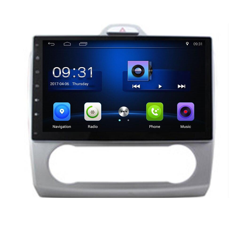 """¡10,2 """"Android 10! Reproductor de DVD y PC Multimedia para coche, Radio Estéreo GPS Navi compatible con Ford Focus Exi AT OBD2 2004 2005-2006 2011"""