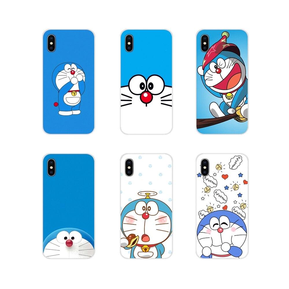 Accesorios de la cáscara del teléfono cubre Doraemon conmigo para Xiaomi Redmi 4A S2 nota 3S 3S 4 4X 5 Plus 6 7 6A Pro teléfono móvil F1