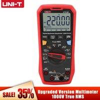 Digital Multimeter Profesional UNI-T UT61E+ True RMS Multimetro AC/DC Voltage Current Resistance Capacitance Tester HOT