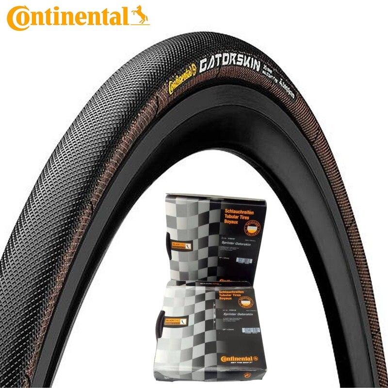 Neumático Tubular Continental Sprinter GatorSkin para bicicleta, neumático de bicicleta de carretera 700x23C 25C, neumáticos plegables para bicicleta de carreras