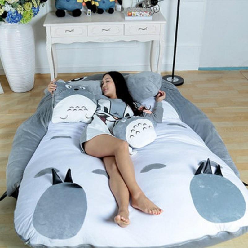 مرتبة توتورو الكرتونية ، سرير أريكة ، راحة ، حصير ، سجادة غرفة نوم صغيرة ، إبداعية ، جميلة