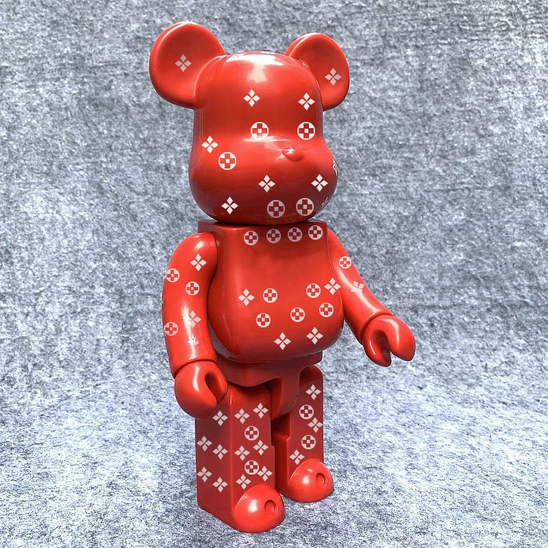28cm 400% Bearbrick Rabbit doll L x sup Mona Lisa / Marilyn Monroe