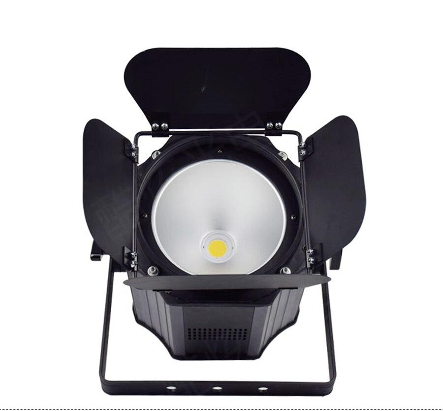 300W COB LED Par luz con puertas de Granero aluminio luz estroboscópica...