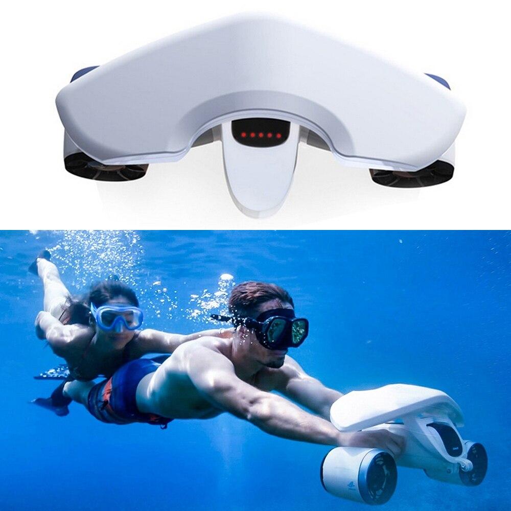 حار الكهربائية تحت الماء سكوتر مياه البحر بركة 520 واط 3 سرعة تحت الماء الغوص سكوتر المياه المروحة مناسبة المحيط لا بطارية