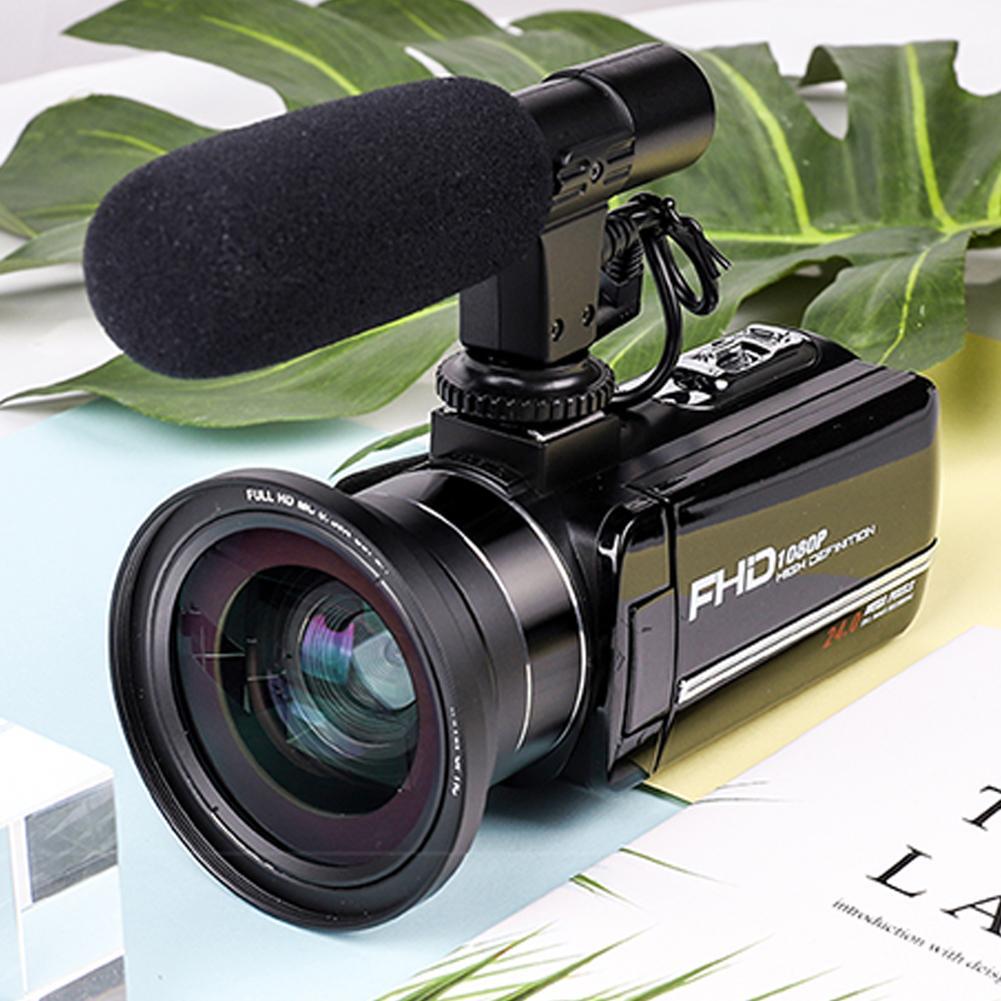 Original Video Kamera Camcorder 4K WiFi Drehbare Digitale HD Touch Kamera DIS Elektronische Antishake Video Kamera FHD-DV02W