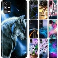 For Samsung Galaxy M31S Case Soft TPU Silicon Back Cover Phone Case For Samsung M31s SM-M317F Case Etui Bumper Protective Coque