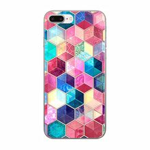 Soft TPU Silicone Phone Cases for IPhone 5 5s Se for Iphone Accessories Geometric Phone Shell