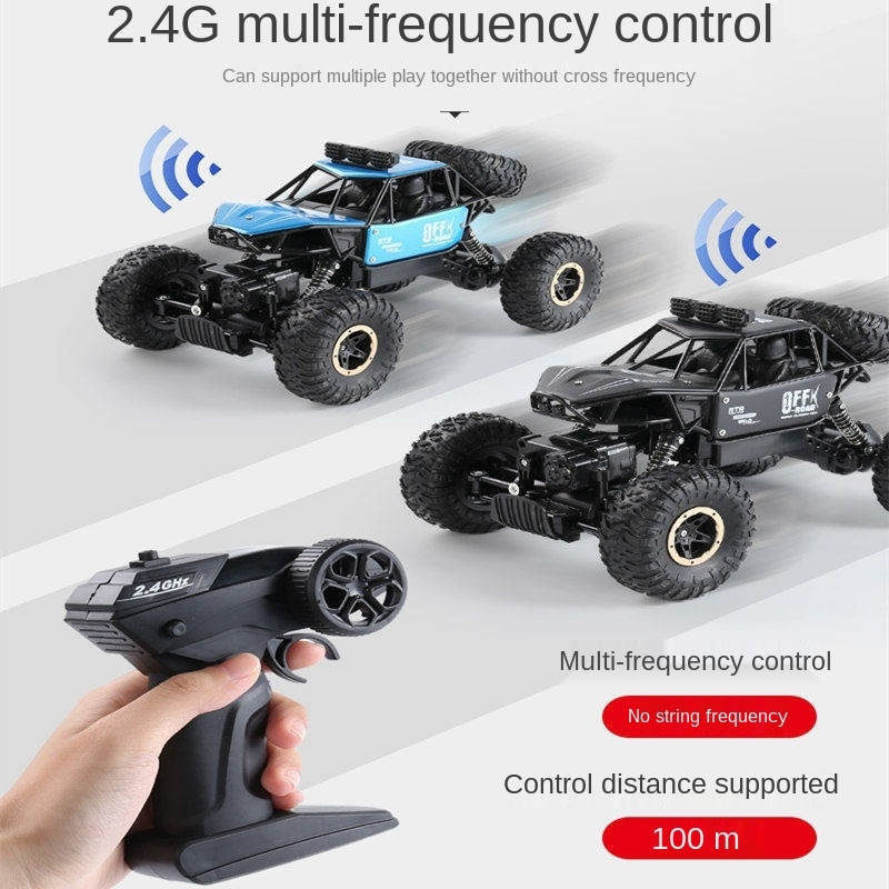 Rc Cars Electric Car Child Radio Control Cars Remote Control Car 2/4-wheel Drive Alloy Climbing Vehicle Children's Toys enlarge