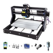 CNC 3018Pro graveur Laser 3 axes fraisage Laser Machine de gravure pour Sculpture bois routeur Support hors ligne Laser Cutter 0.5-15W