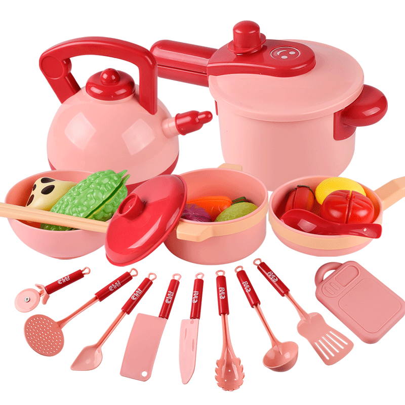 Children Kitchen Toys Miniature Cooking Utensils Set Simulation Food Cookware Pot Pan Pretend Play House Toy Kids Gift недорого