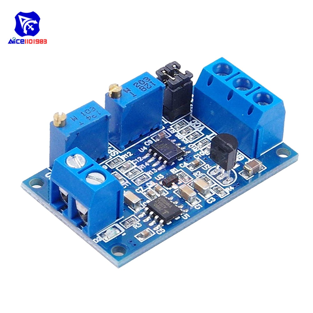 Módulo de corriente de voltaje diymore 0-20mA/4-20mA a 0-3,3 V/0-5 V/0-10 V módulo convertidor de señal de transmisor de voltaje