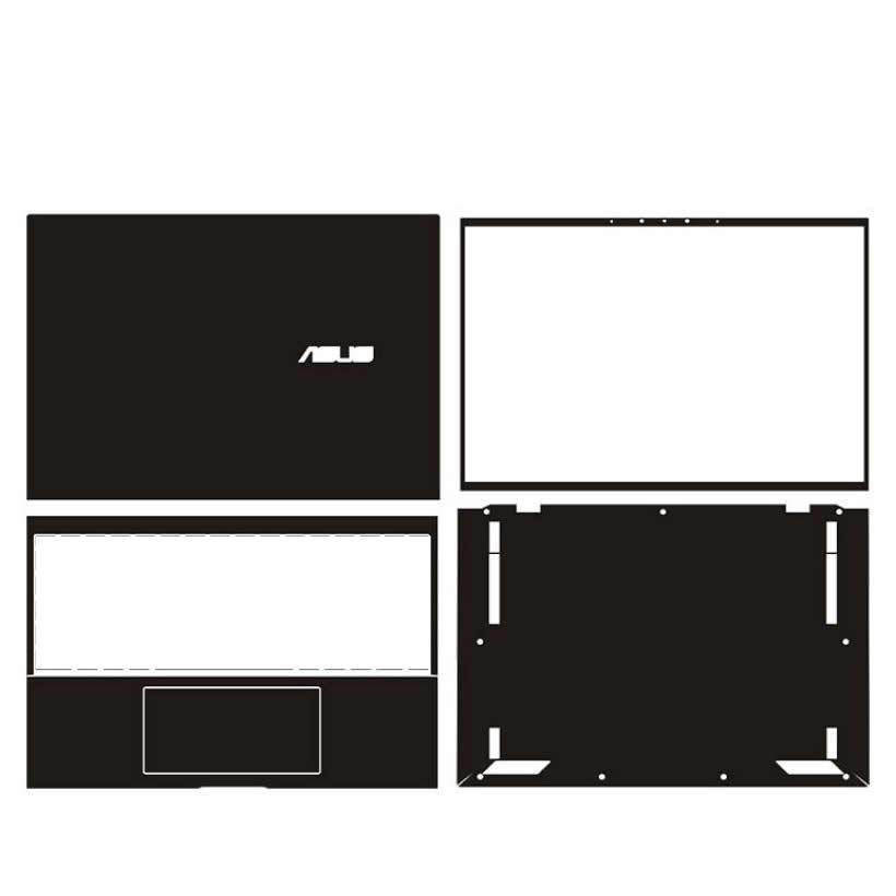 KH محمول ملصق الجلد الشارات غطاء حامي الحرس ل ASUS ROG Strix G17 G713 G713QR G713QM 17.3