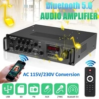 2000W 5 canaux bluetooth HiFi amplificateur stereo LED karaoke numerique amplificador audio Home cinema Home cinema amplificateurs